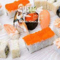 Роллы плюс суши. Сет №2